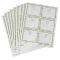 Personalized Floral Mailing Labels