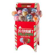 Santa Mailbox Gourmet Lollipops, 20 Count