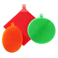 Silicone Sponges, Set of 3