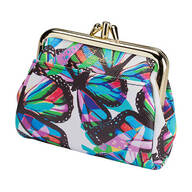 Buxton Butterfly Snap Coin Purse