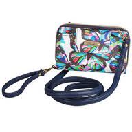 Buxton Butterfly RFID Clutch/Crossbody Bag