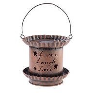 Live Laugh Love Solar Lantern