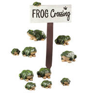Resin Frog Crossing Set by Fox River™ Creations