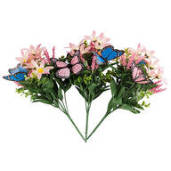 Floral Butterfly Picks by Oakridge Outdoor™, Set of 3