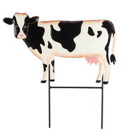 Metal Cow Lawn Stake by Fox River™ Creations