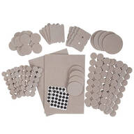 Furniture Pads, 308-Piece Set by LivingSURE™
