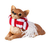 Tan Chihuahua Ornament