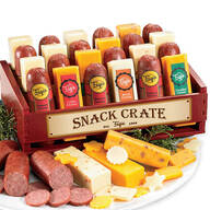 Snack Crate of Cheese & Sausage, 12 Count - 1 lb. 3 oz.