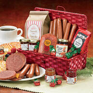 Christmas Breakfast Gift Basket, 2 lbs.