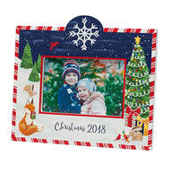 Personalized Winter Frolic Christmas Frame