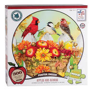 "Jane Maday Rounds ""Apples and Acorns"" 300-pc. Puzzle"