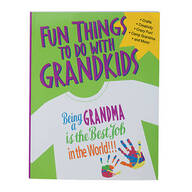 """Fun Things To Do With Grandkids"" Book"