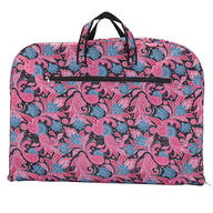 Pink Paisley Travel Bags