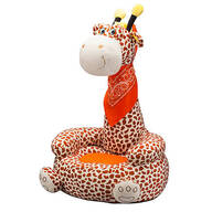 Children's 2-in-1 Giraffe Chair with Bandana