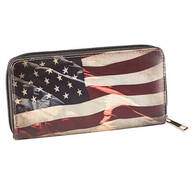 Designer Wallet Americana Flag