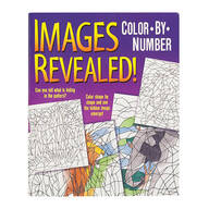 Images Revealed! Color-By-Number Book