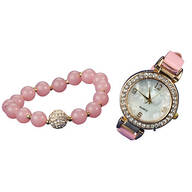 Crystals Watch and Bracelet Set