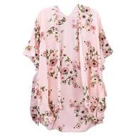 Jack & Missy Floral Kimono, Blush