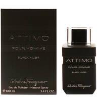 Salvatore Ferragamo Attimo Black Musk for Men EDT, 3.4 oz.