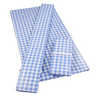 Deluxe Picnic Table Cover w/ Cushions by HSK Cornflower Blue