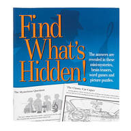 """Find What's Hidden!"" Puzzle Book"