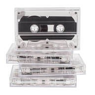 Blank Cassette Tapes, Set of 4