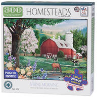 Homesteads Spring Morning Puzzle, 300 pieces