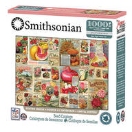 Smithsonian Collages Seed Catalog Puzzle, 1,000 pieces