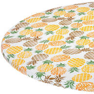 Pineapple Elasticized Vinyl Table Cover