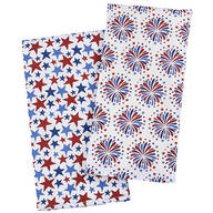 Patriotic Printed Flour Sack Towels set of 2