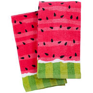 Watermelon Slice Kitchen Towel Set of 2