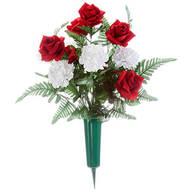 Rose and Carnation Memorial