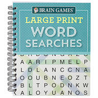 Brain Games® Large Print Word Searches