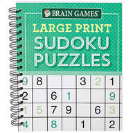 Brain Games® Large Print Sudoku Puzzles