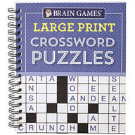 Brain Games® Large Print Crossword Puzzles