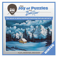 """The Joy of Puzzles with Bob Ross®, """"Winter"""", 500 Pieces"""