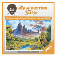 """The Joy of Puzzles with Bob Ross®, """"Fall"""", 500 Pieces"""