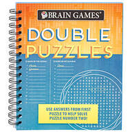 Brain Games® Double Puzzles