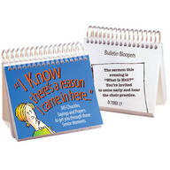 """I Know There's a Reason I Came in Here"" Perpetual Desk Calendar"