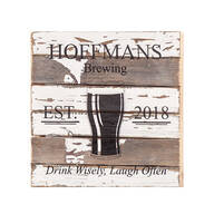 Personalized Pub Reclaimed Wood Sign by Sweet Bird & Co.