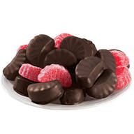 Dark Chocolate Covered Fruit Slices