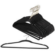 Slim Velvet Hangers, Pack of 25