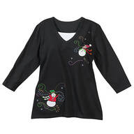 Snowman Top with Modesty Panel