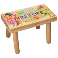 Personalized Under the Sea Children's Step Stool
