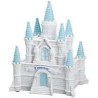Personalized Blue Princess Castle Bank