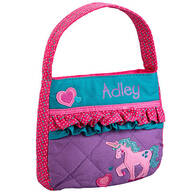 Personalized Stephen Joseph® Quilted Unicorn Purse