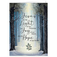 He is the Light Christmas Card Set of 20