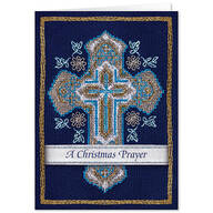 Cross Stitch Cross w/Bookmark Christmas CardSet of 20