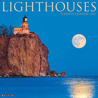 Lighthouses Wall Calendar