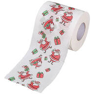 Christmas-Themed Toilet Paper